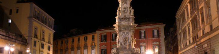 Piazza del Gesù in Naples