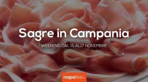 Sagre in Campania nel weekend dal 15 al 17 novembre 2019