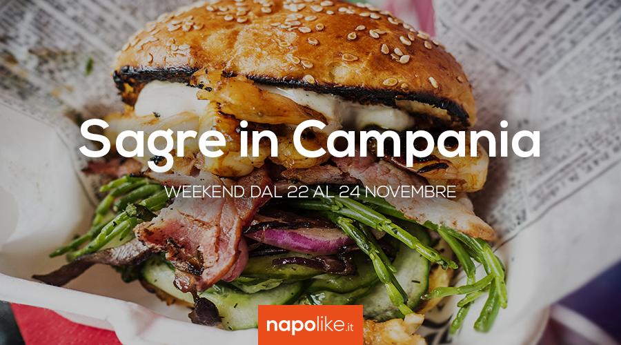 Sagre in Campania nel weekend dal 22 al 24 novembre 2019