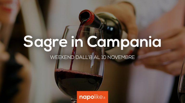 Festivales en Campania durante el fin de semana de 8 a 10 Noviembre 2019