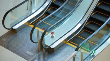 example image of the escalators of Naples