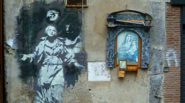 Banksy in Naples