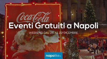Eventi gratuiti a Napoli nel weekend dal 20 al 22 dicembre 2019