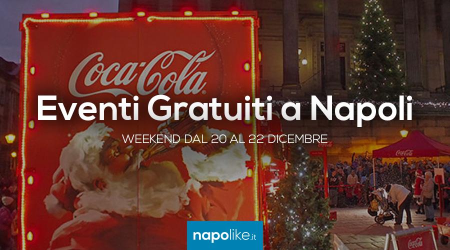 20から22 12月2019への週末のナポリでの無料イベント