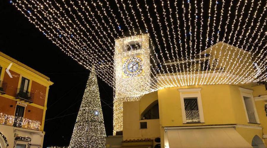 Illuminations de Noël à Capri