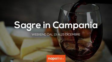 Sagre in Campania nel weekend dal 13 al 15 dicembre 2019
