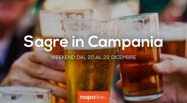 Sagre in Campania nel weekend dal 20 al 22 dicembre 2019