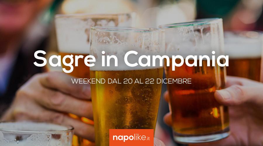 المهرجانات في كامبانيا خلال عطلة نهاية الأسبوع من 20 إلى 22 ديسمبر 2019