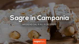 Festivals in Campania in the weekend from 6 to 8 December 2019
