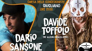 Dario Sansone und Davide Toffolo im Konzert
