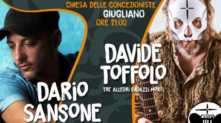Дарио Сансоне и Давид Тоффоло на концерте
