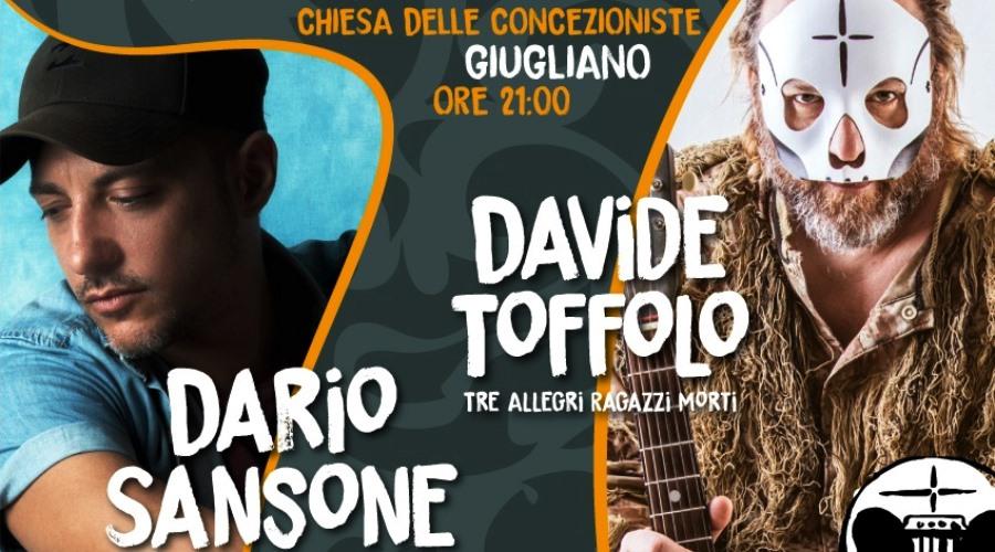 Dario Sansone e Davide Toffolo in concerto