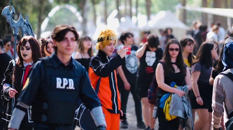 Cosplay al Comicon di Napoli