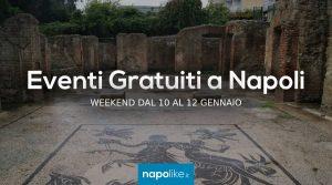 Eventi gratuiti a Napoli nel weekend dal 10 al 12 gennaio 2020
