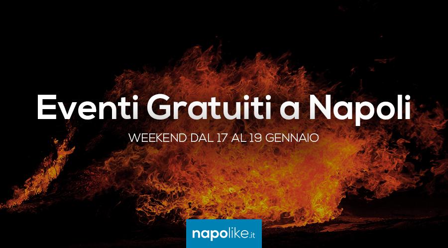Eventi gratuiti a Napoli nel weekend dal 17 al 19 gennaio 2020