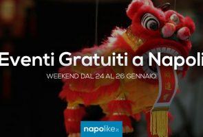 Kostenlose Veranstaltungen in Neapel am Wochenende von 24 zu 26 Januar 2020