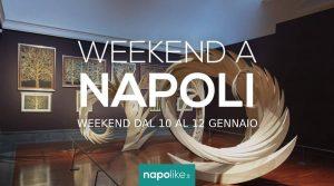 الأحداث في نابولي خلال عطلة نهاية الأسبوع من 10 إلى 12 في يناير 2020