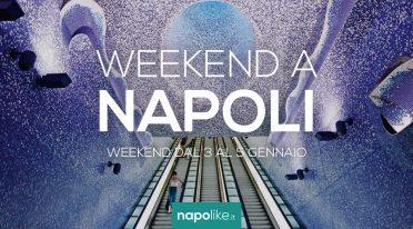 Eventi a Napoli nel weekend dal 3 al 5 gennaio 2020