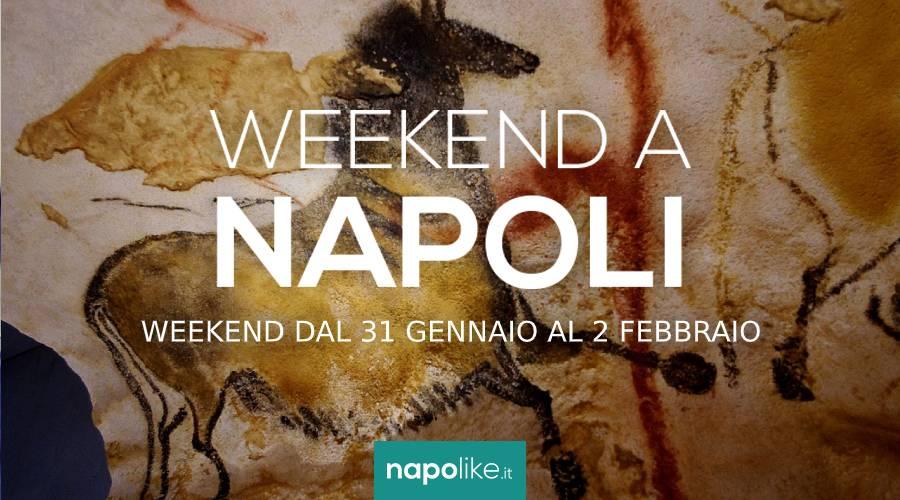 Eventi a Napoli nel weekend dal 31 gennaio al 2 febbraio 2020