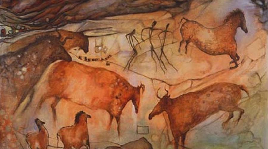 Lascaux Höhlen