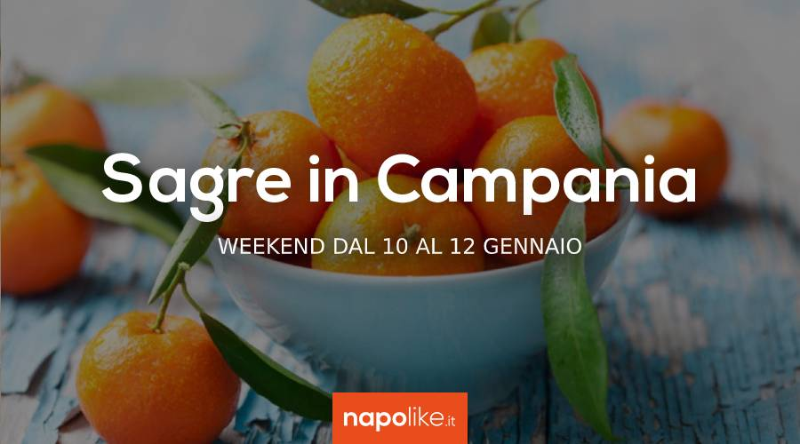 Sagre in Campania nel weekend dal 10 al 12 gennaio 2020