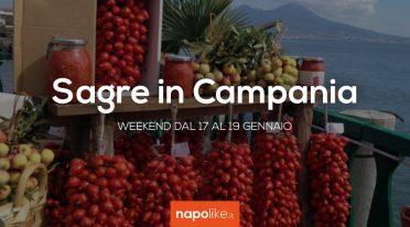 周末在坎帕尼亚的节日从17到19 1月2020