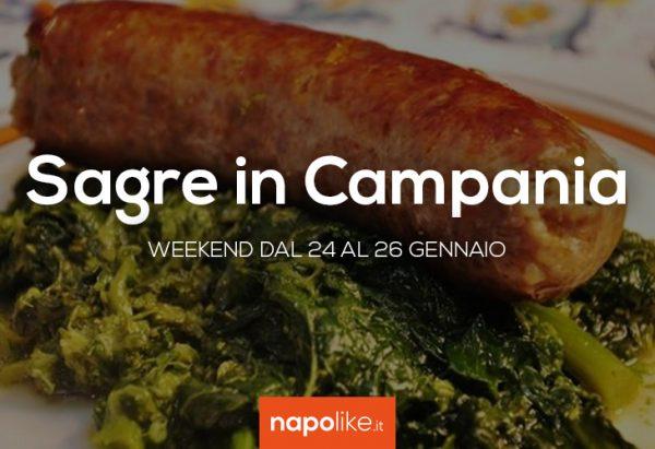 Festivals in Kampanien am Wochenende von 24 zu 26 Januar 2020