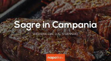 Sagre in Campania nel weekend dal 3 al 5 gennaio 2020