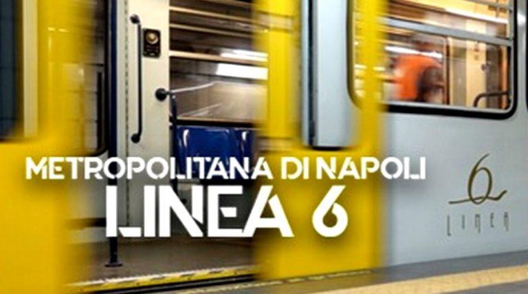 在那不勒斯的6地铁线