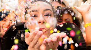 Carnival confetti
