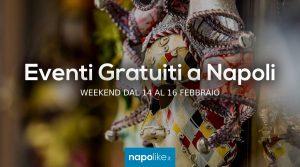 Eventi gratuiti a Napoli nel weekend dal 14 al 16 febbraio 2020