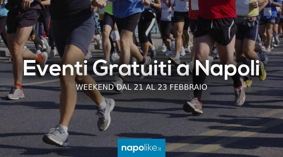 周末在那不勒斯从21到23二月2020的免费活动