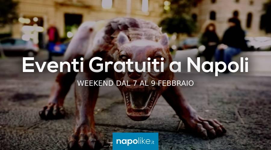 Бесплатные мероприятия в Неаполе в выходные дни от 7 до 9 Февраль 2020
