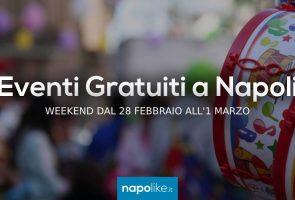 Eventos gratuitos en Nápoles durante el fin de semana del 28 de febrero al 1 de marzo de 2020