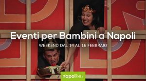 14から16への週末のナポリの子供たちのイベント2月2020