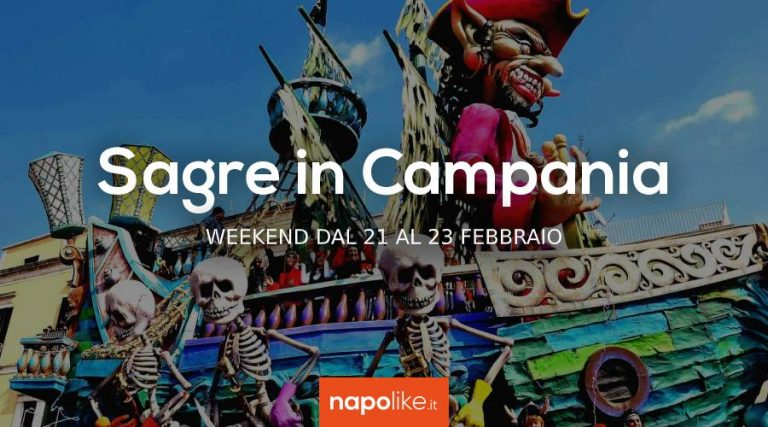 周末在坎帕尼亚的节日从21到23二月2020