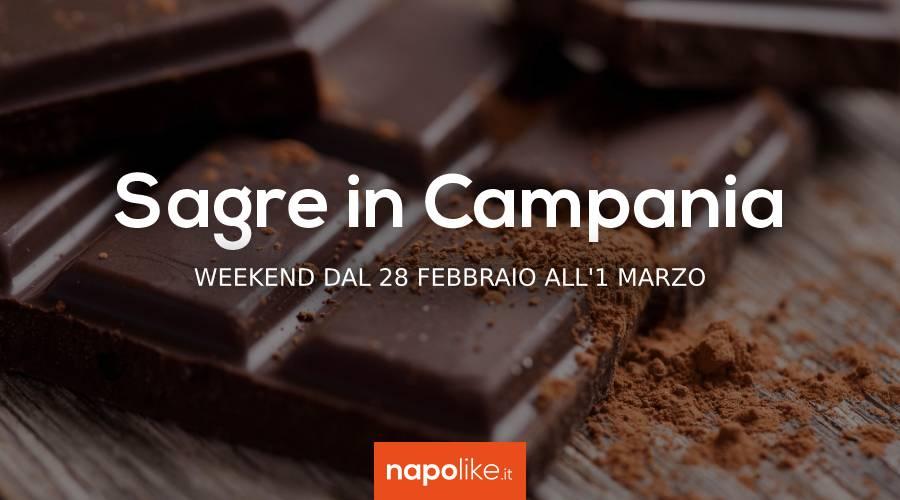 Фестивали в Кампании в выходные дни с 28 февраля по 1 марта 2020 года
