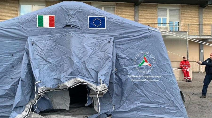 Палатка гражданской защиты