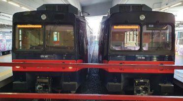 Treni revampizzati della Circumvesuviana