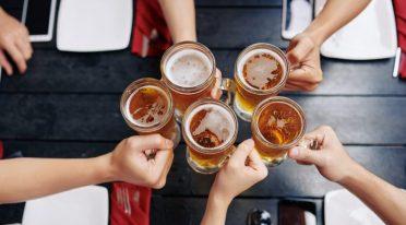 Brindisi con birra