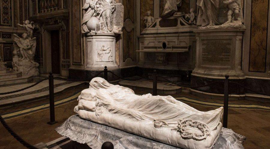 Der verschleierte Christus in der Sansevero-Kapelle