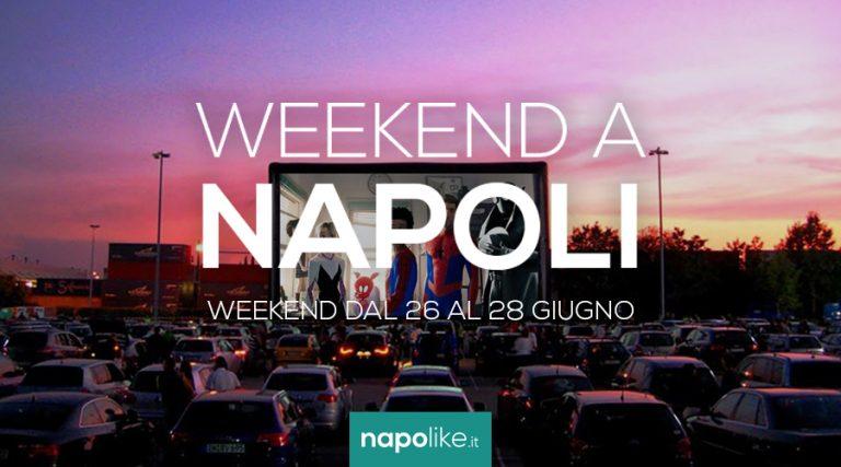 الأحداث في نابولي خلال عطلة نهاية الأسبوع من 26 إلى 28 June 2020