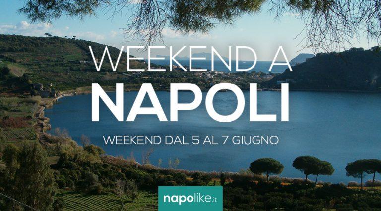 Veranstaltungen in Neapel am Wochenende von 5 zu 7 am Juni 2020