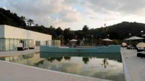 إعادة فتح ملصق حديقة العافية في Terme di Agnano