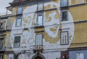 Street art at the Rione Sanità