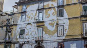 فن الشارع في Rione Sanità