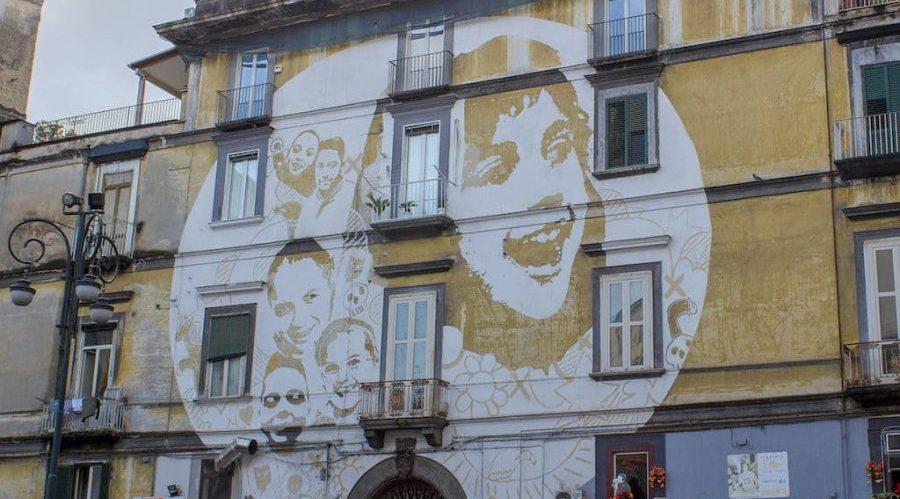 リオーネサニタのストリートアート
