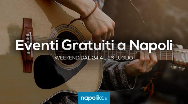 Eventi gratuiti a Napoli nel weekend dal 24 al 26 luglio 2020