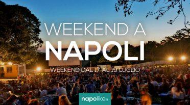 Veranstaltungen in Neapel am Wochenende von 17 zu 19 Juli 2020