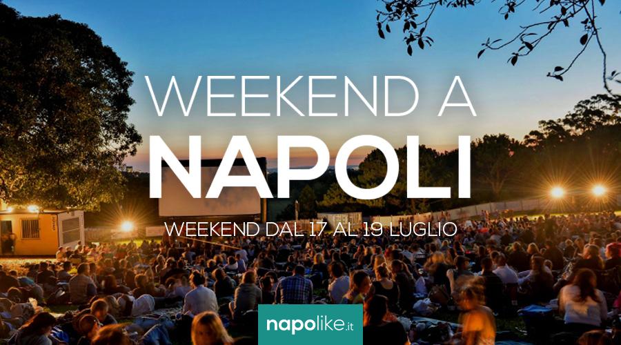 Eventi a Napoli nel weekend dal 17 al 19 luglio 2020